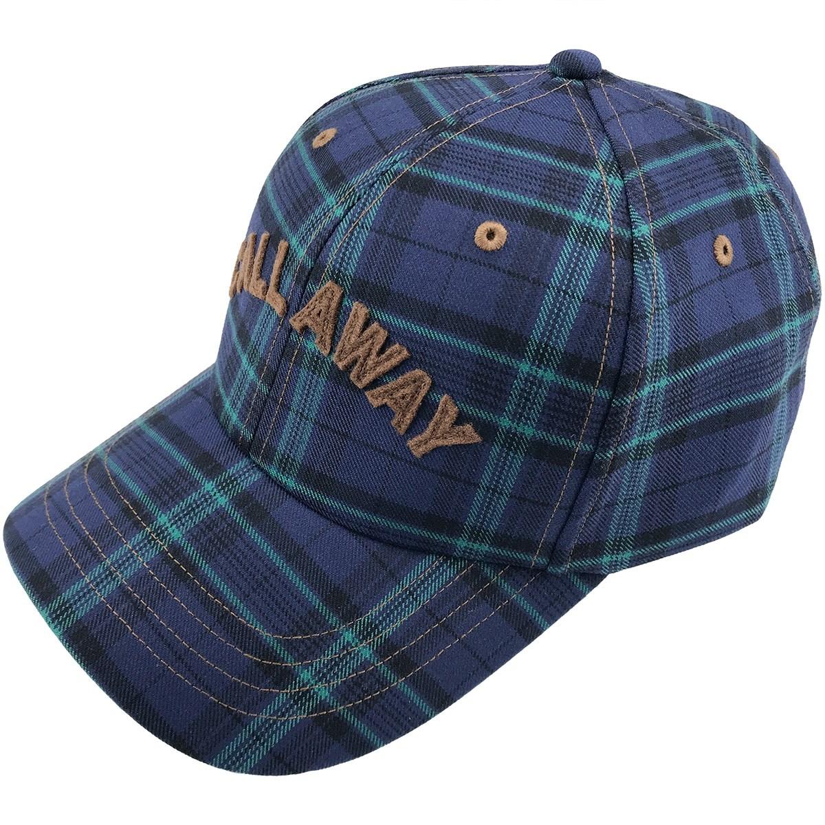 キャロウェイゴルフ Callaway Golf チェックキャップ フリー ネイビー 120