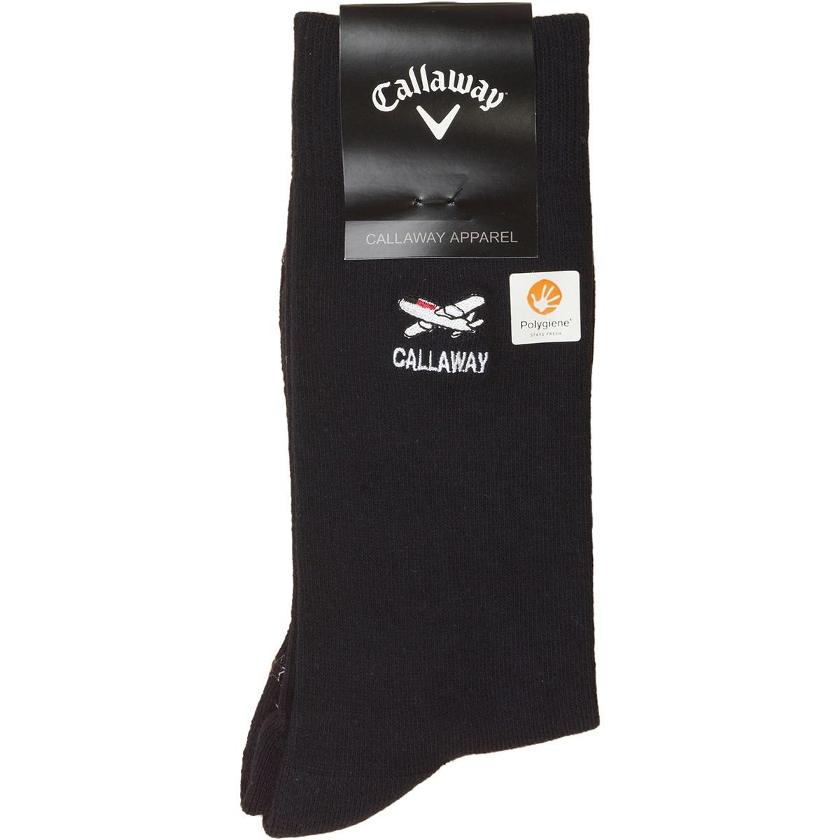 キャロウェイゴルフ(Callaway Golf) ワンポイントクルーソックス