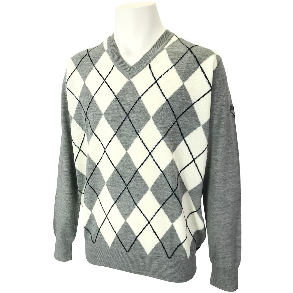キャロウェイゴルフ(Callaway Golf) Vネックアーガイルセーター