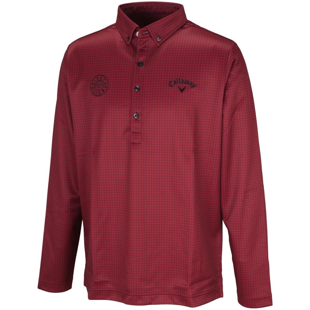 キャロウェイゴルフ(Callaway Golf) ボタンダウンボックス長袖ポロシャツ