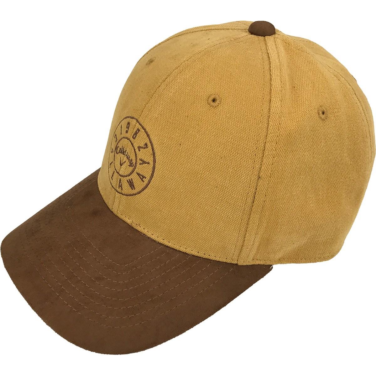 [2020年モデル] キャロウェイゴルフ Callaway Golf スエードコンビキャップ イエロー 060 メンズ ゴルフウェア 帽子