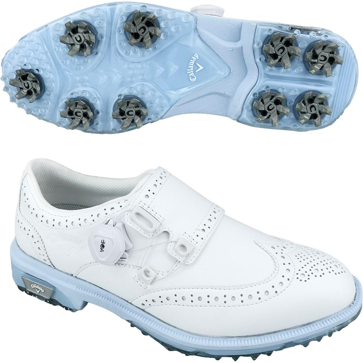 キャロウェイゴルフ Callaway Golf TOURPRECISION BOA ゴルフシューズ 25cm ホワイト 030