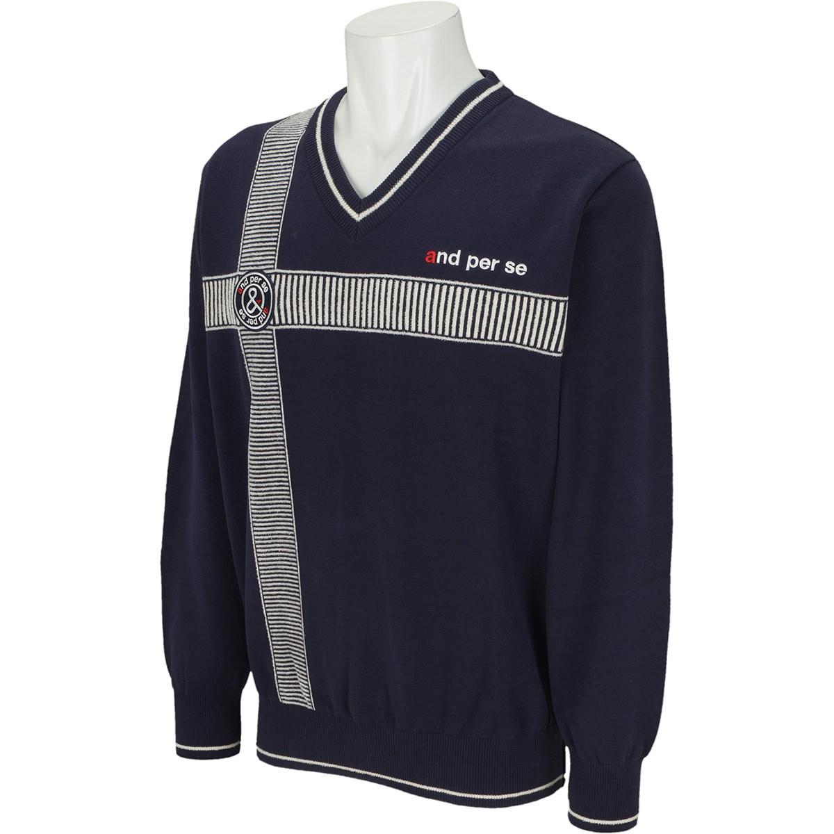 アンパスィ Vネックセーター