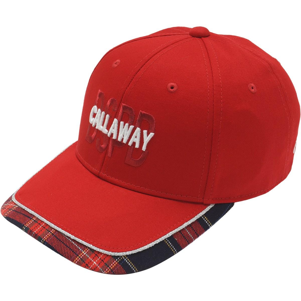キャロウェイゴルフ Callaway Golf ツイルキャップ フリー レッド 100 レディス