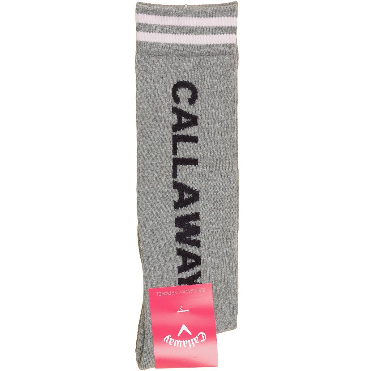 キャロウェイゴルフ Callaway Golf ハイソックス フリー グレー 020 レディス