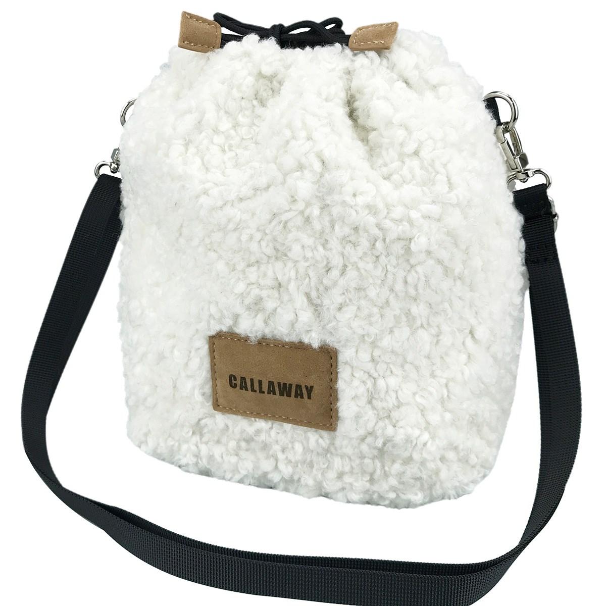 キャロウェイゴルフ(Callaway Golf) ファー巾着バッグ