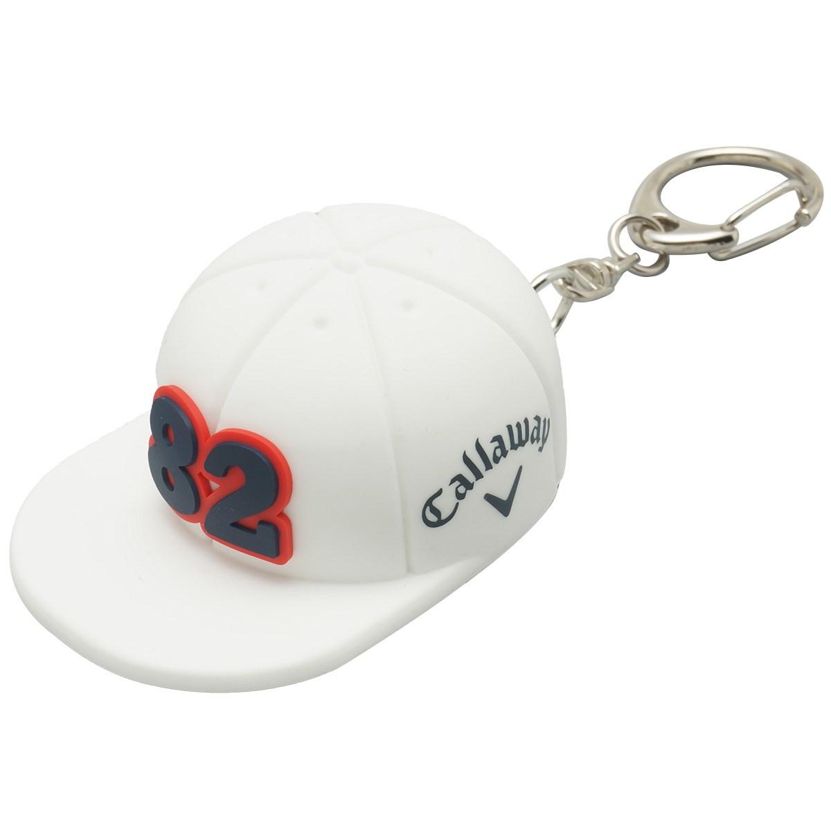 キャロウェイゴルフ Callaway Golf シリコンキャップ型ボールポーチ ホワイト 030