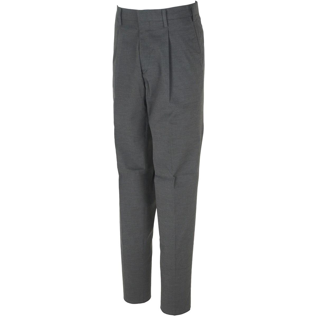 マンシングウェア Munsingwear ワンタック&ウエストフリーストレッチパンツ 79 グレー 00