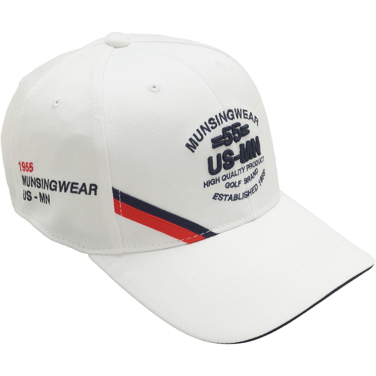 マンシングウェア Munsingwear ツイルキャップ フリー ホワイト 00