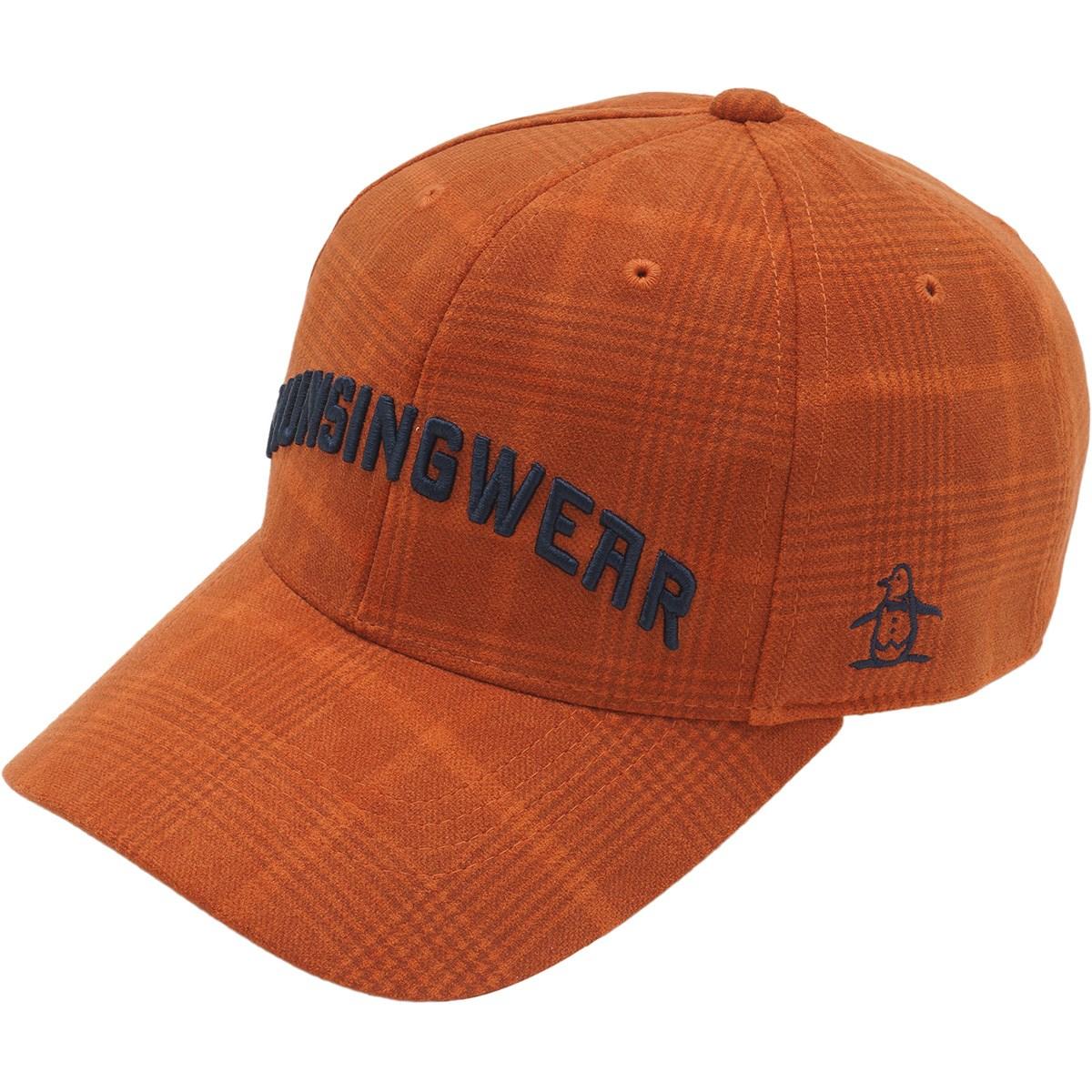 マンシングウェア Munsingwear スエードライクキャップ フリー オレンジ 00