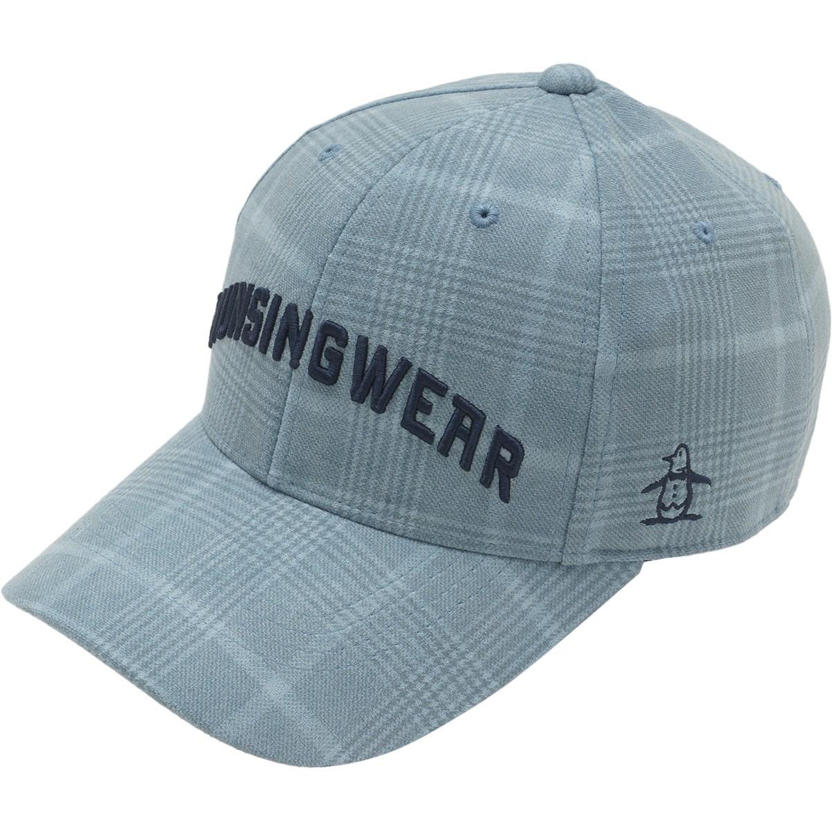マンシングウェア Munsingwear スエードライクキャップ フリー ブルー 00