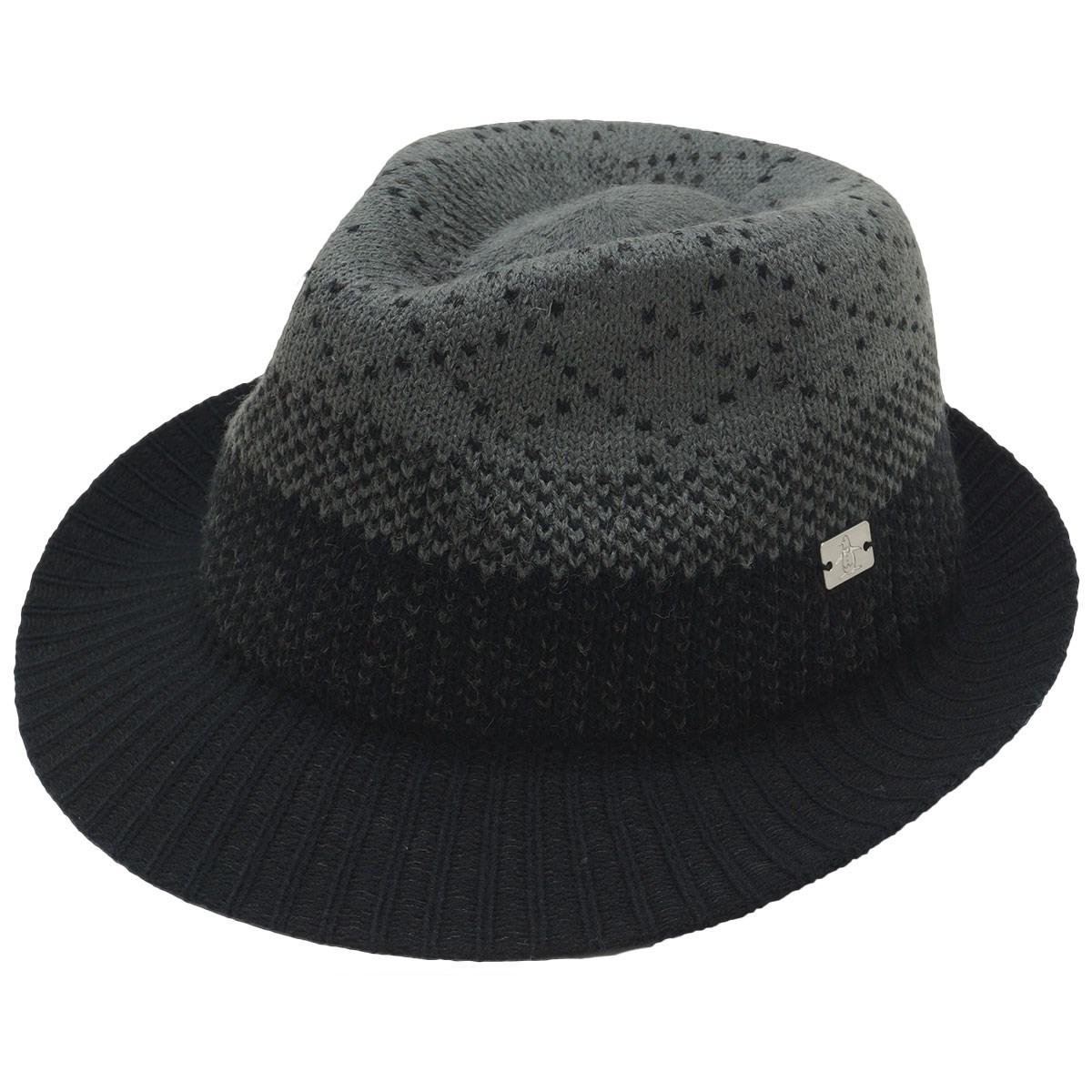 マンシングウェア Munsingwear 起毛素材ハット フリー ブラック 00
