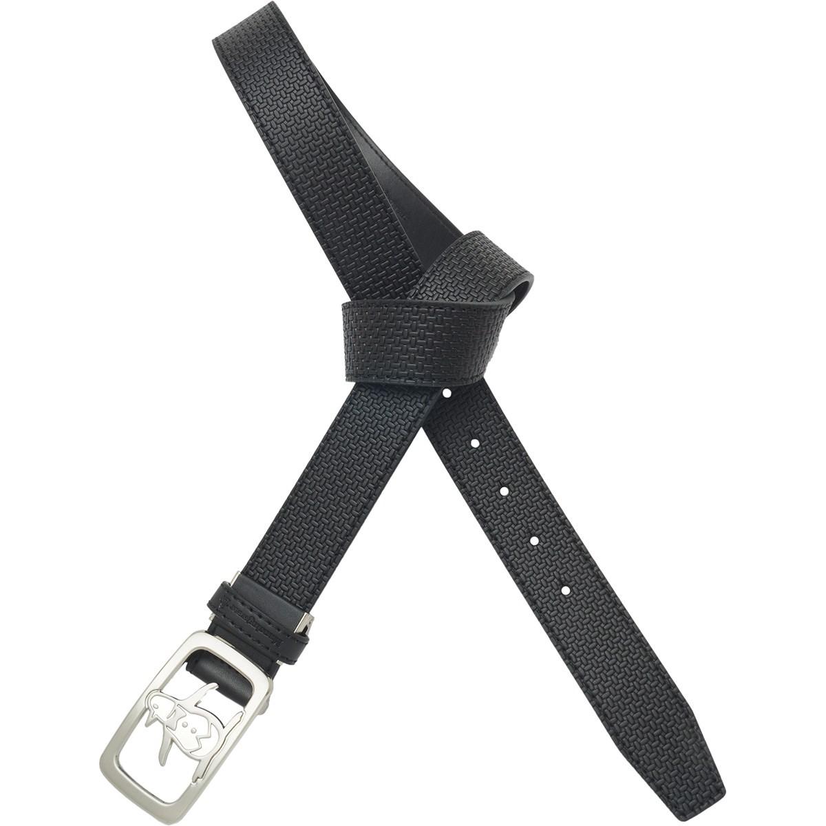 マンシングウェア Munsingwear ペンギンバックルベルト L ブラック 00