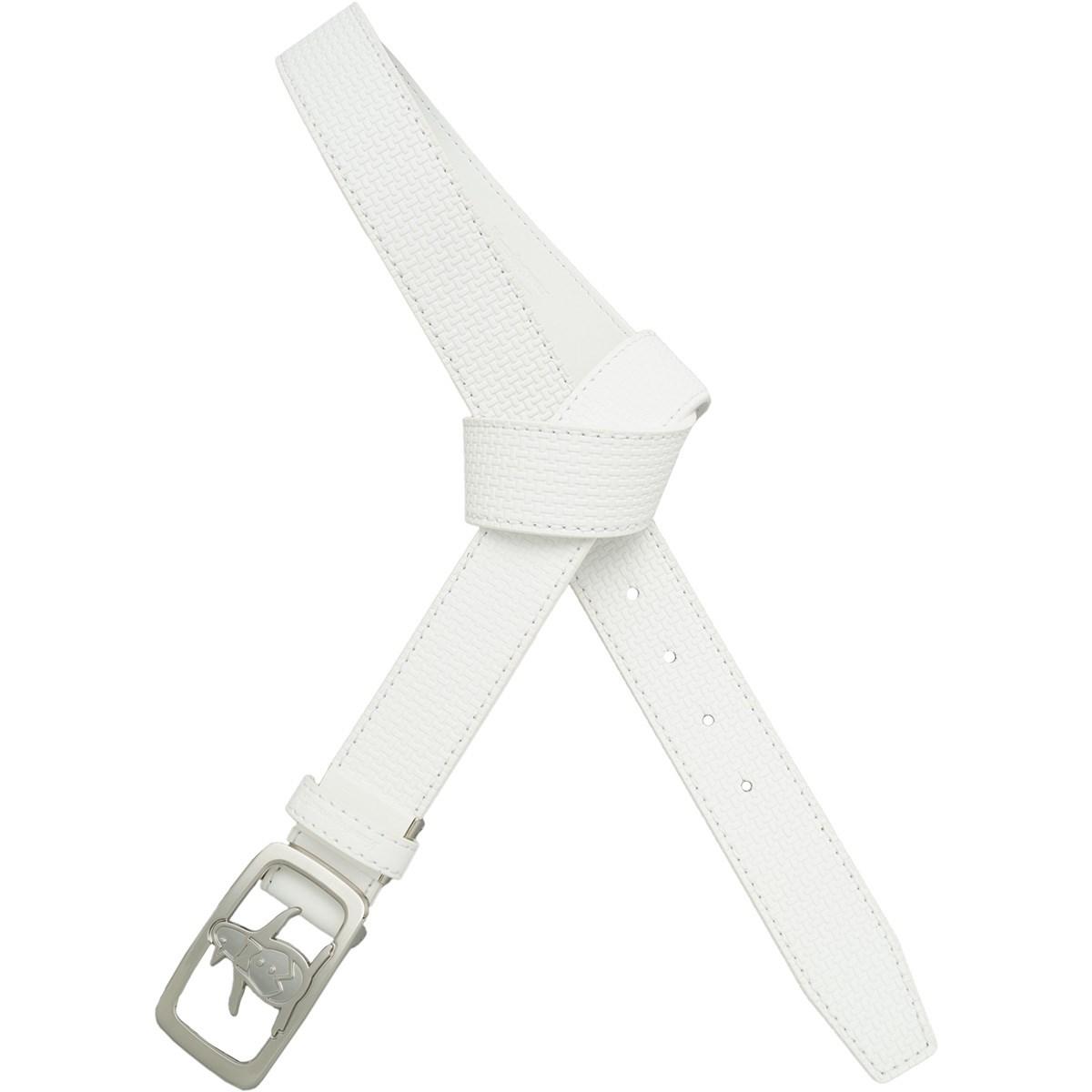 マンシングウェア Munsingwear ペンギンバックルベルト L ホワイト 00