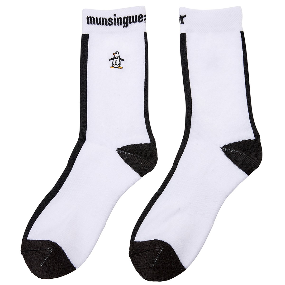 マンシングウェア Munsingwear ショートソックス フリー ホワイト 00 レディス