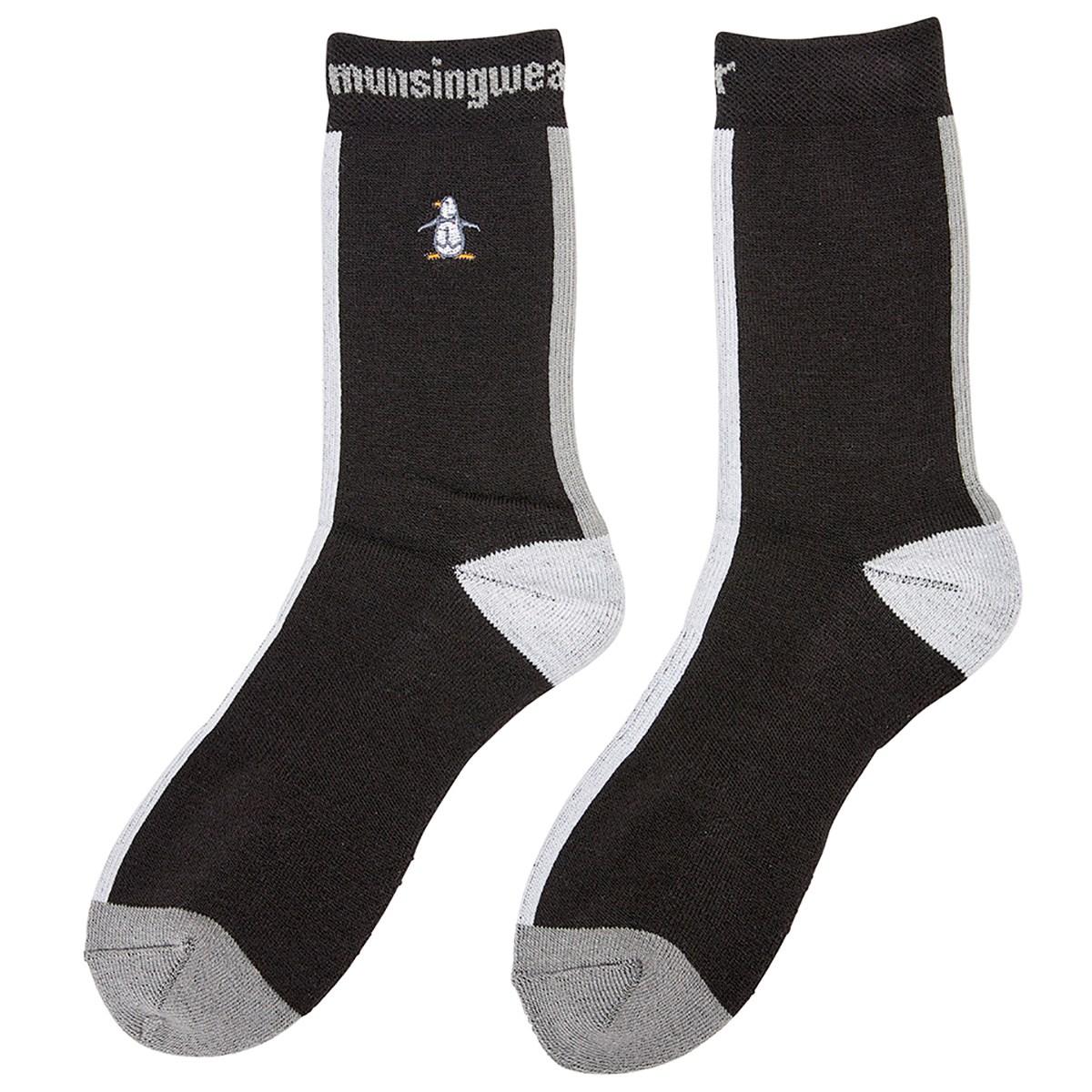 マンシングウェア Munsingwear ショートソックス フリー ブラック 00 レディス