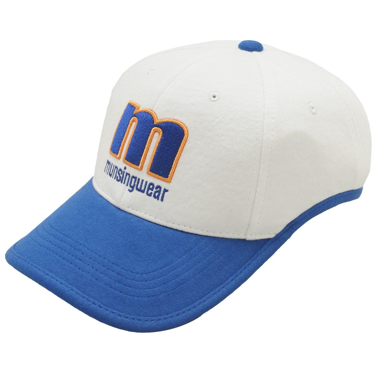 マンシングウェア Munsingwear カラーコンビボンディングキャップ フリー ホワイト 00 レディス