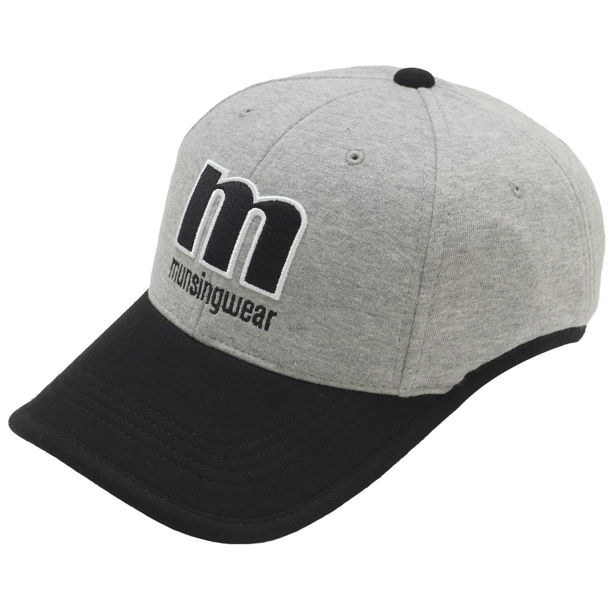 マンシングウェア Munsingwear カラーコンビボンディングキャップ フリー グレー 00 レディス