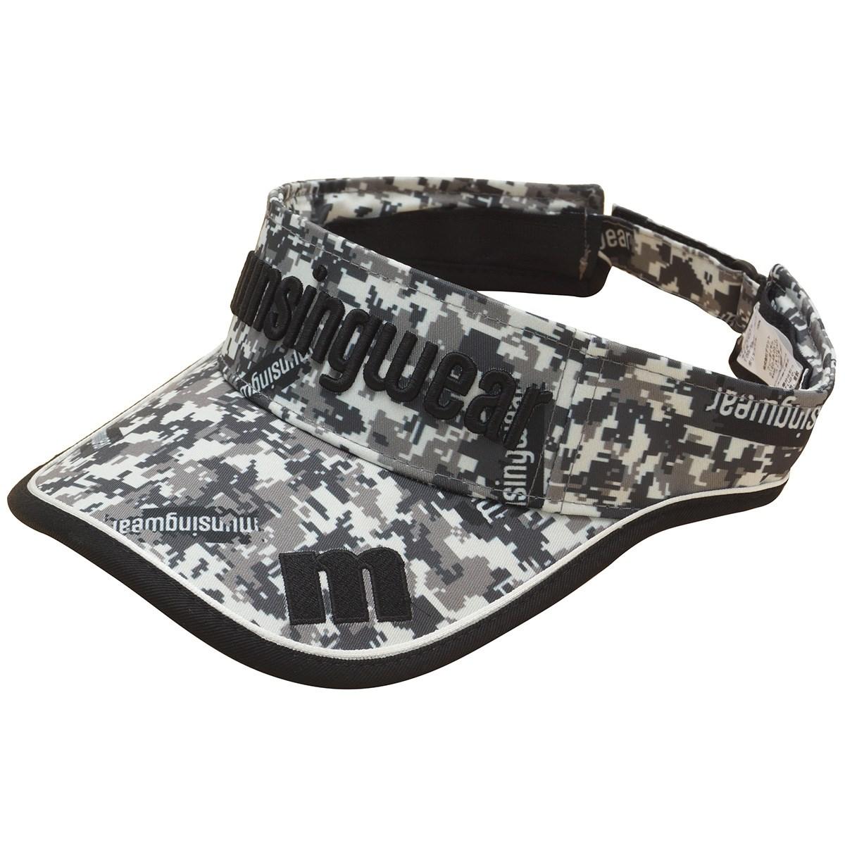 マンシングウェア Munsingwear ENVOY 総柄プリントキャップ フリー ブラック 00 レディス
