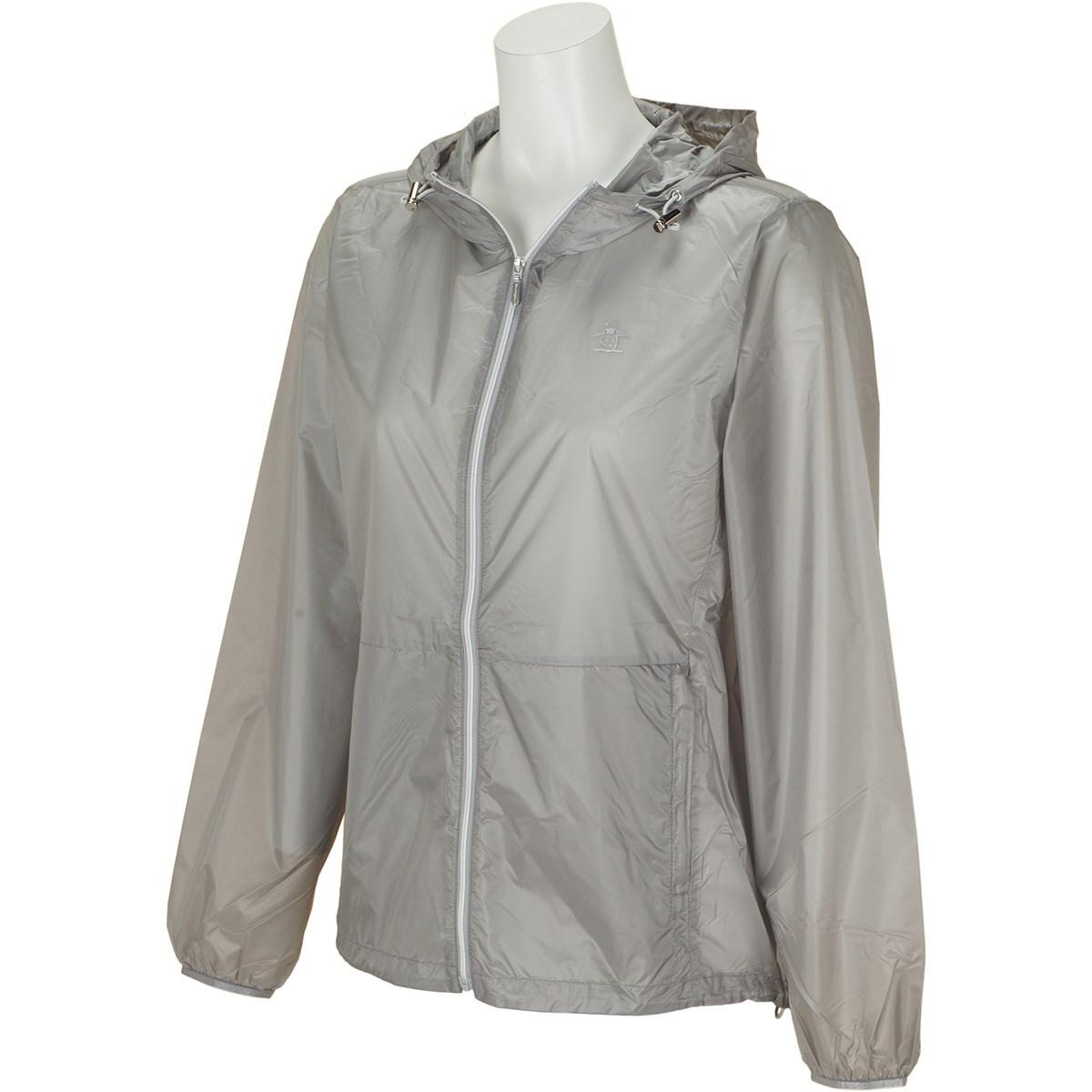 マンシングウェア Munsingwear シースルーライトブルゾン LL グレー 00 レディス