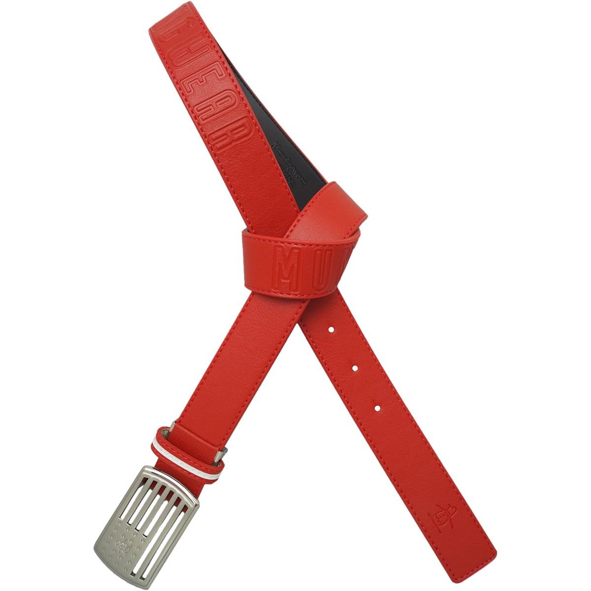 マンシングウェア Munsingwear バックルデザインベルト フリー レッド 00 レディス