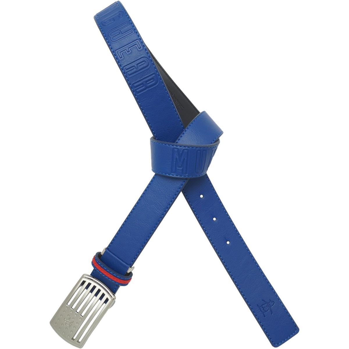 マンシングウェア Munsingwear バックルデザインベルト フリー ブルー 00 レディス