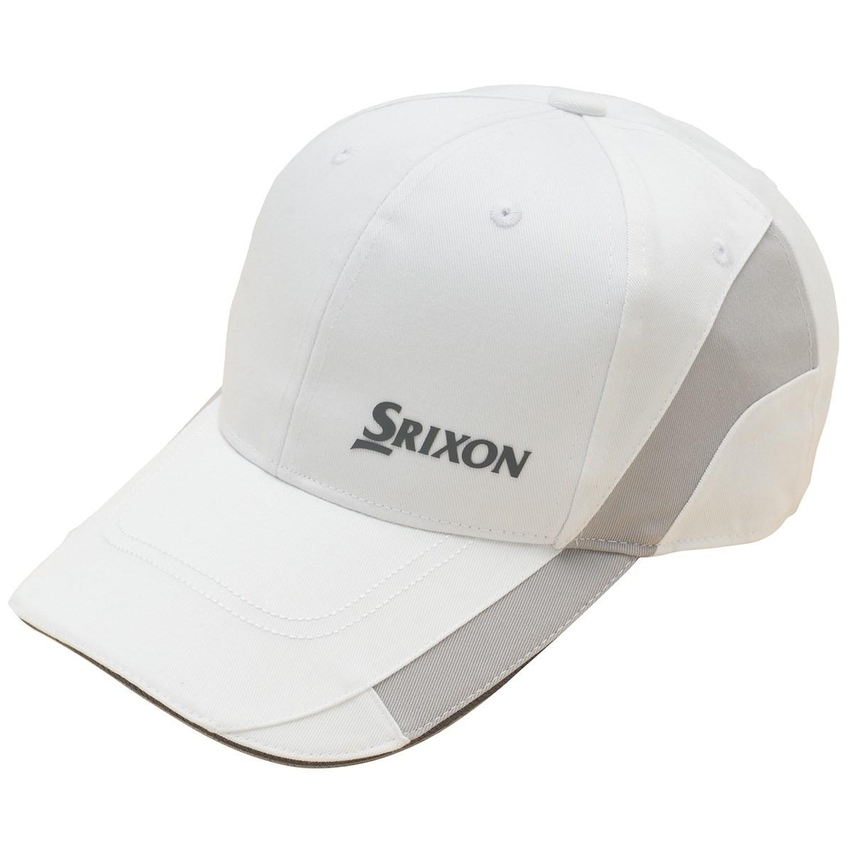 スリクソンゴルフ SRIXON 切り替えデザインキャップ フリー ホワイト 00