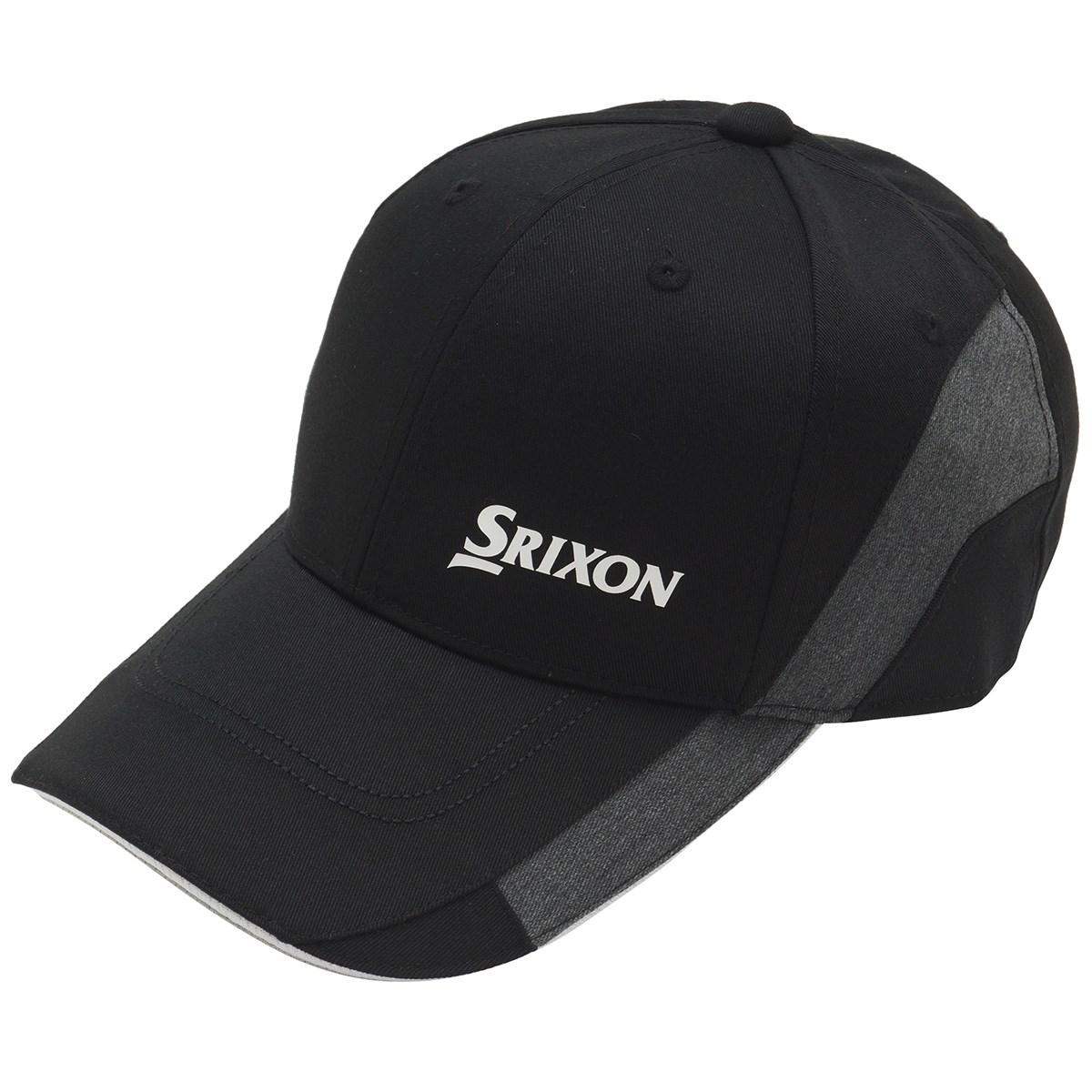 スリクソンゴルフ SRIXON 切り替えデザインキャップ フリー ブラック 00