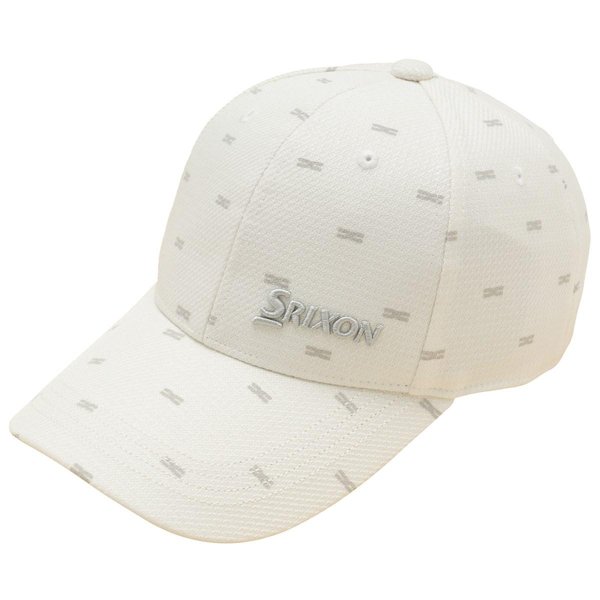 スリクソンゴルフ SRIXON クロスモチーフ飛び柄キャップ フリー ホワイト 00 レディス