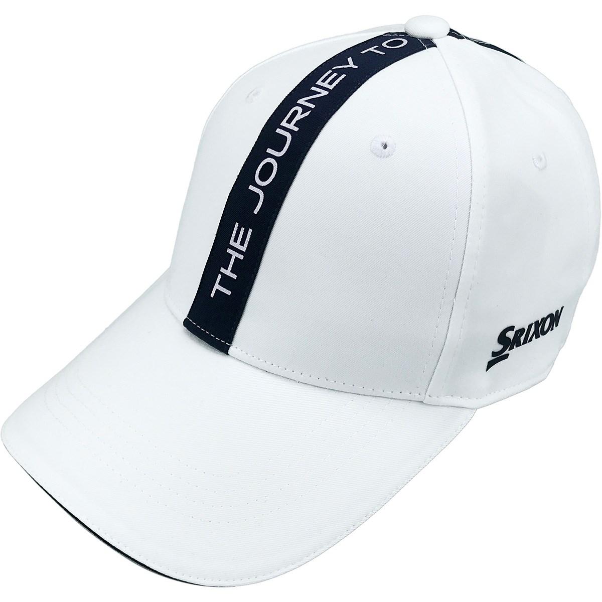 スリクソンゴルフ SRIXON タイポグラフィデザインキャップ フリー ホワイト 00 レディス