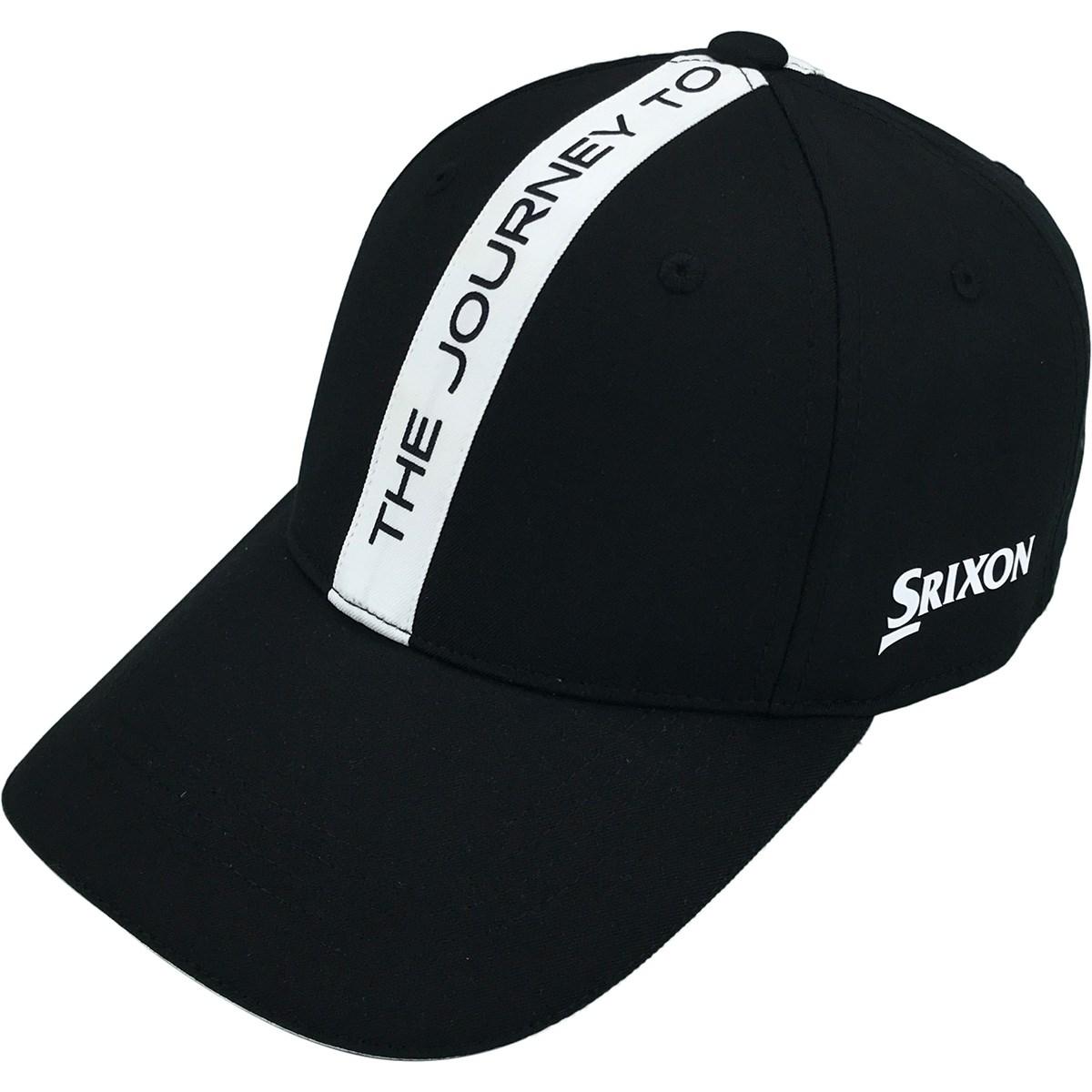 スリクソンゴルフ SRIXON タイポグラフィデザインキャップ フリー ブラック 00 レディス