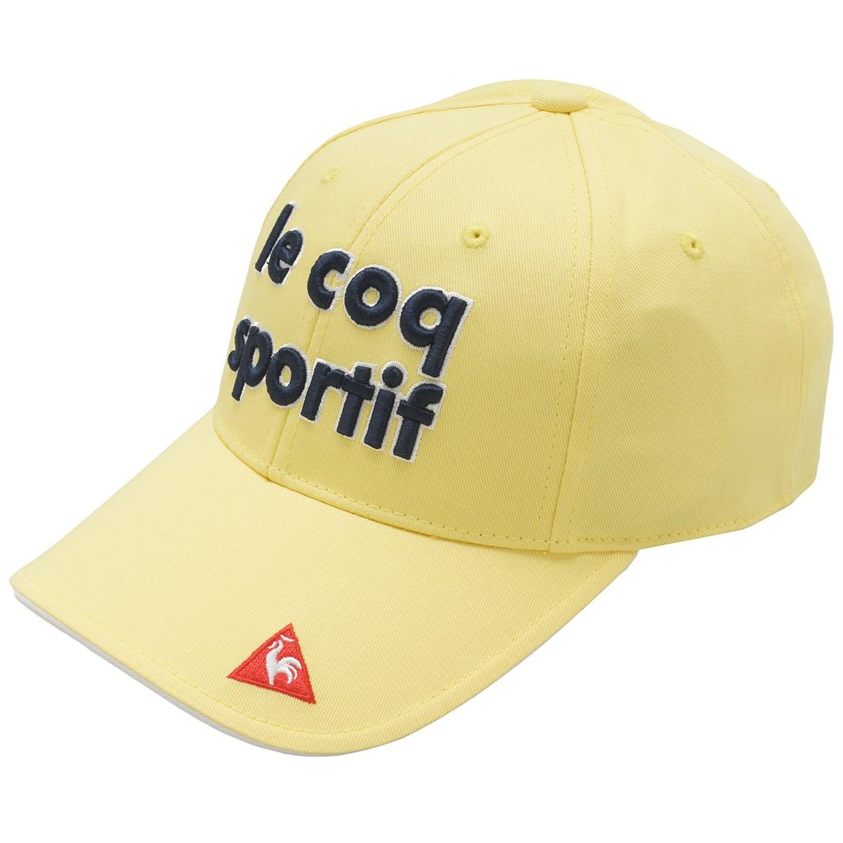 ルコックゴルフ Le coq sportif GOLF コットンツイルキャップ フリー イエロー 00 レディス