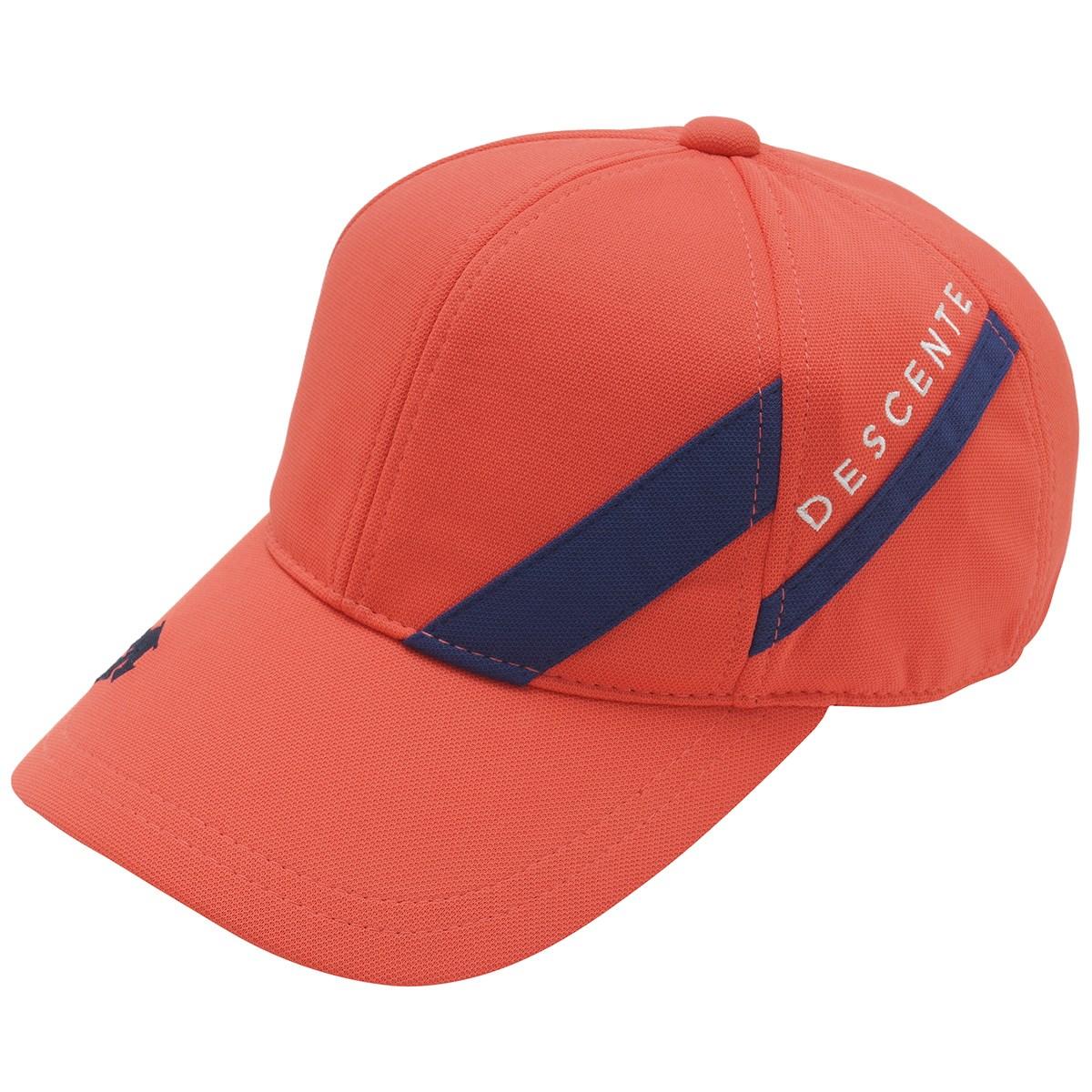 デサントゴルフ DESCENTE GOLF キャップ フリー オレンジ 00