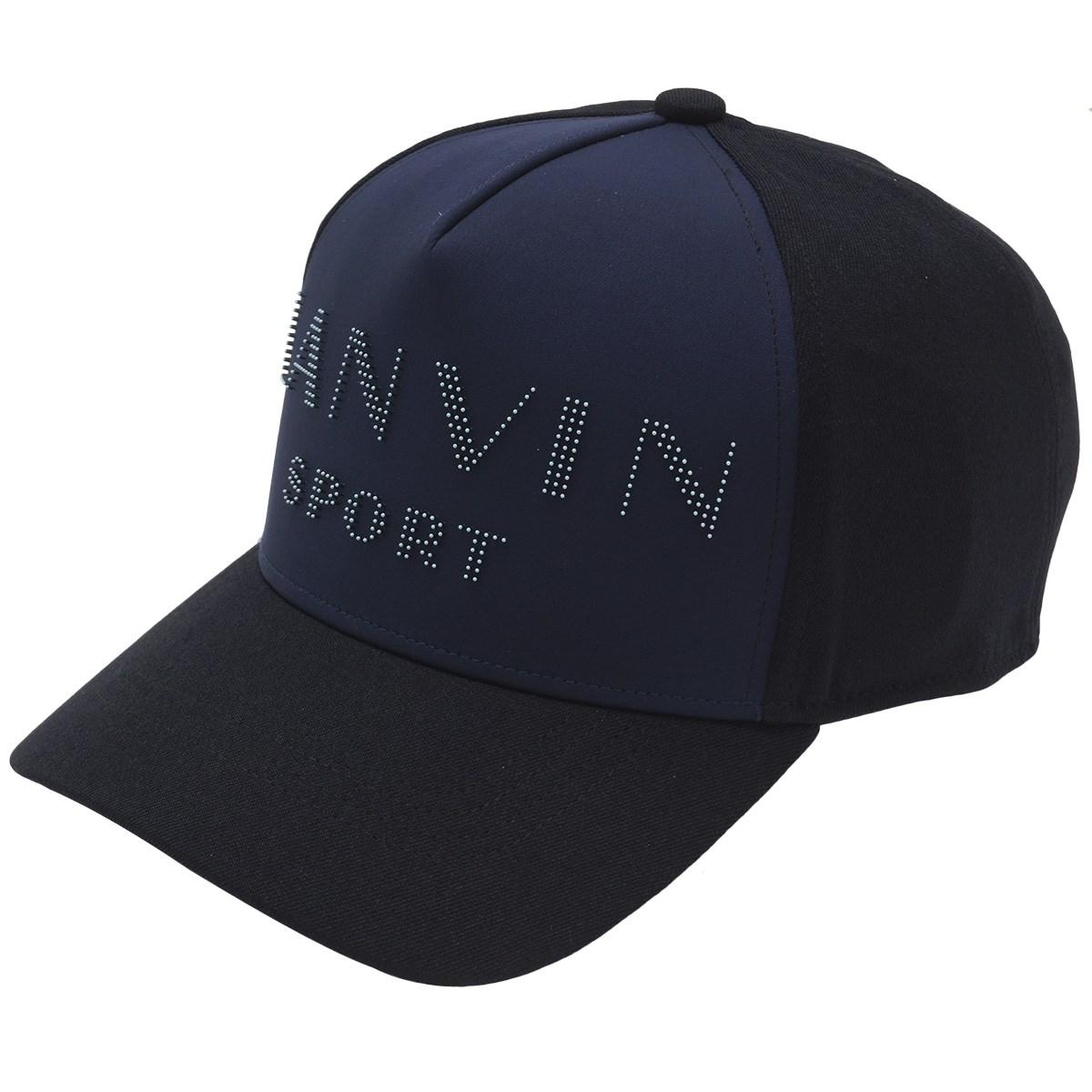 ランバン スポール(LANVIN SPORT) ロゴデザインキャップ