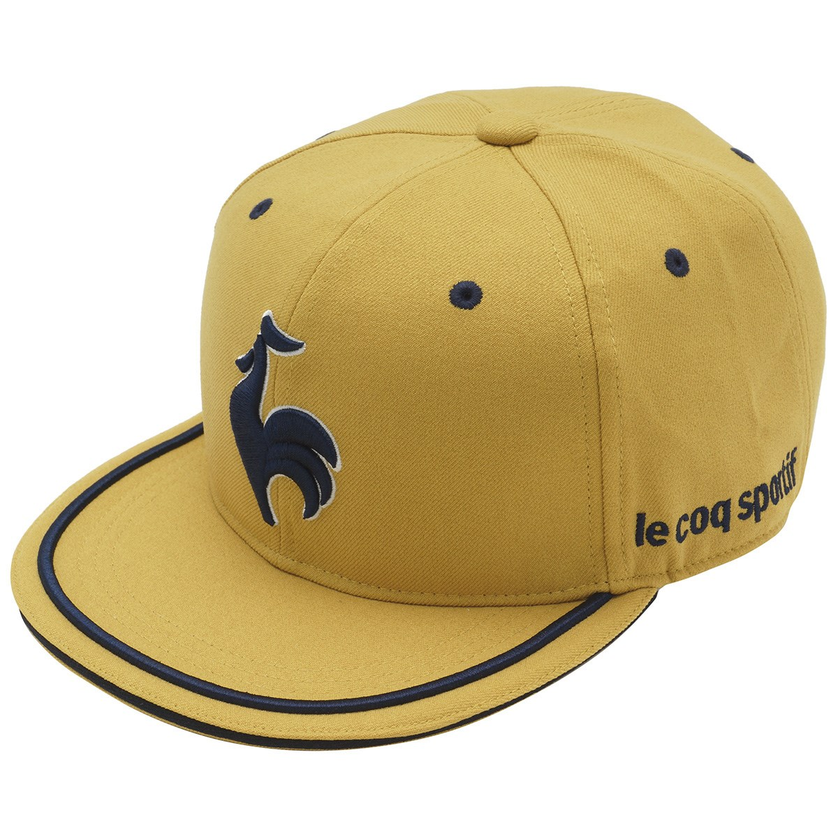 ルコックゴルフ Le coq sportif GOLF フラットキャップ フリー イエロー 00