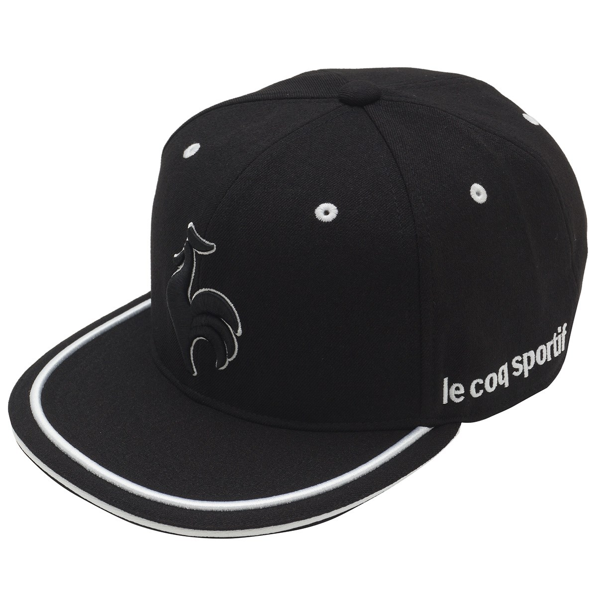 ルコックゴルフ Le coq sportif GOLF フラットキャップ フリー ブラック 00