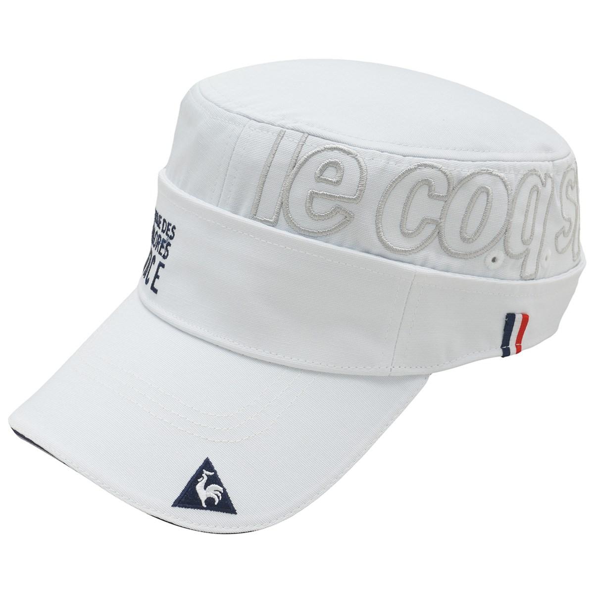 ルコックゴルフ Le coq sportif GOLF 2WAYドゴールキャップ フリー ホワイト 00