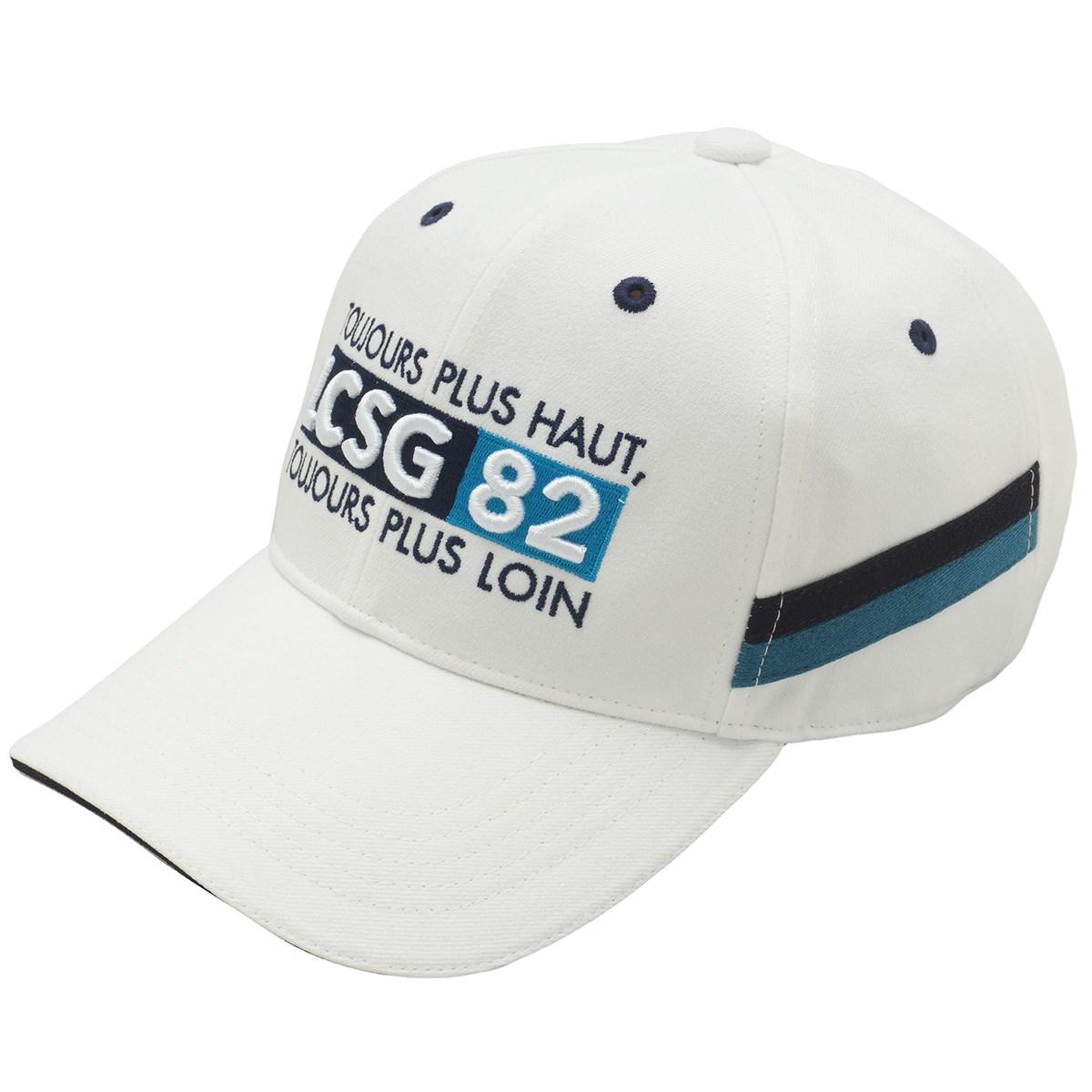 ルコックゴルフ Le coq sportif GOLF ウールライクウェア連動ロゴキャップ フリー ホワイト 00