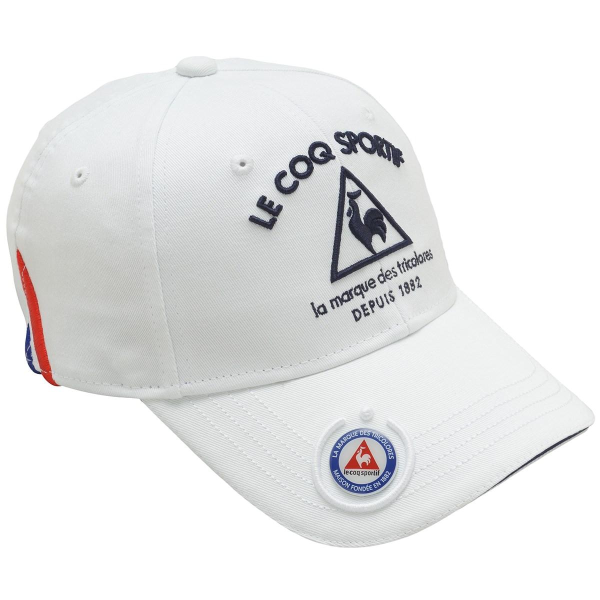 ルコックゴルフ Le coq sportif GOLF コットンツイルマーカー付きキャップ フリー ホワイト 00 レディス