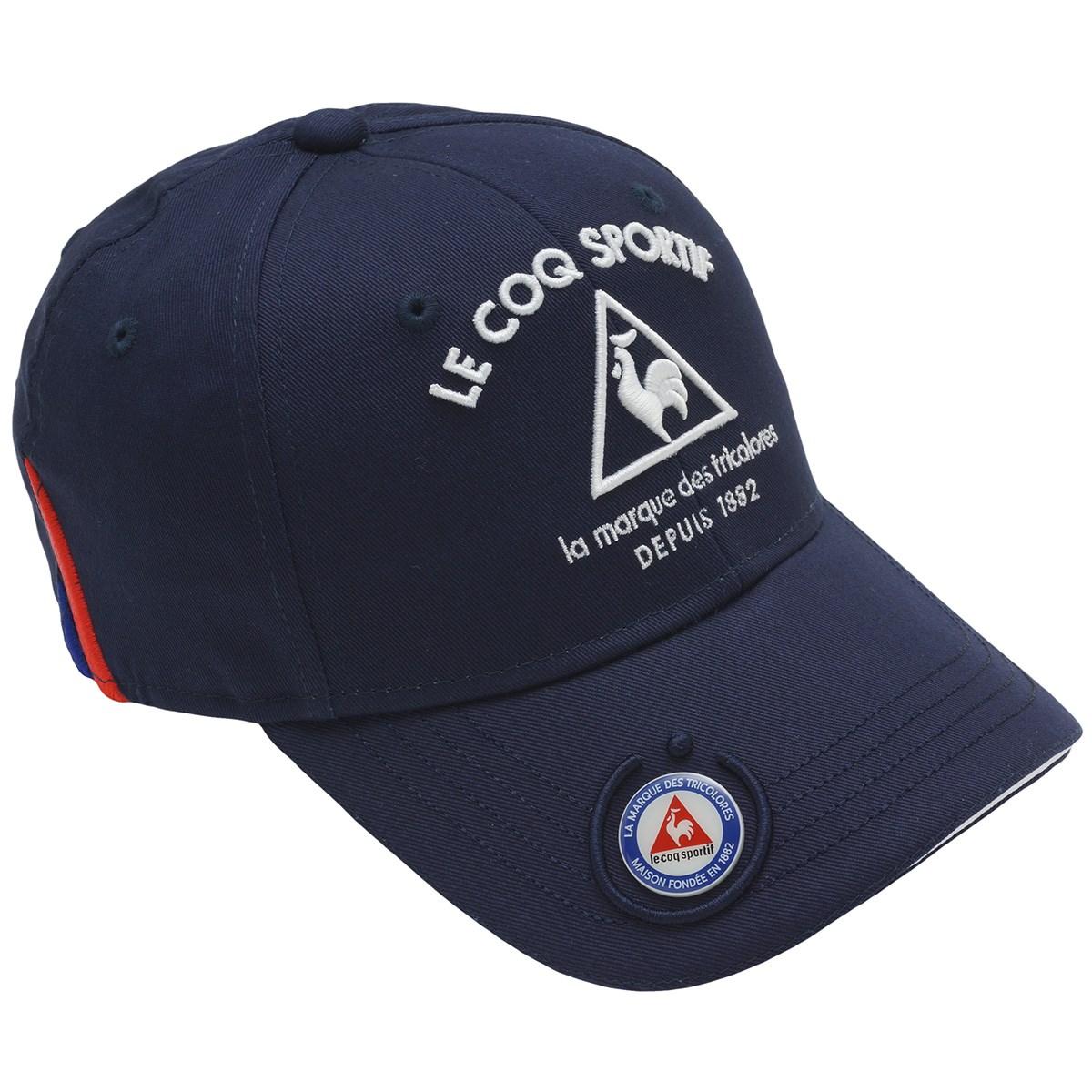 ルコックゴルフ Le coq sportif GOLF コットンツイルマーカー付きキャップ フリー ネイビー 00 レディス