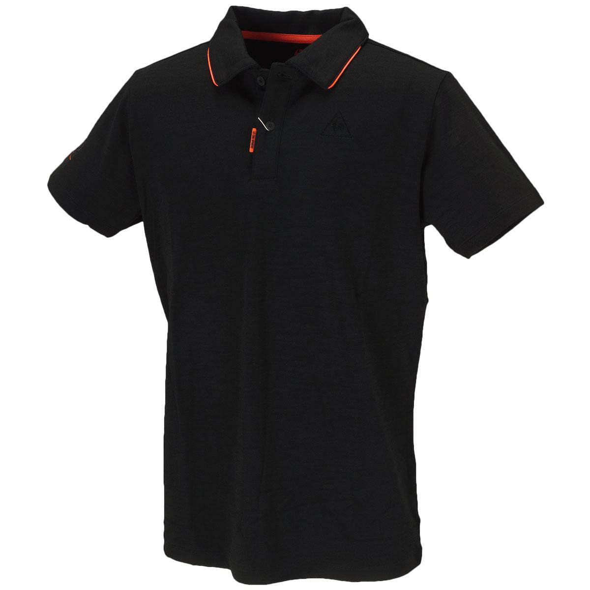 RIJOUME マナードウール半袖ポロシャツ