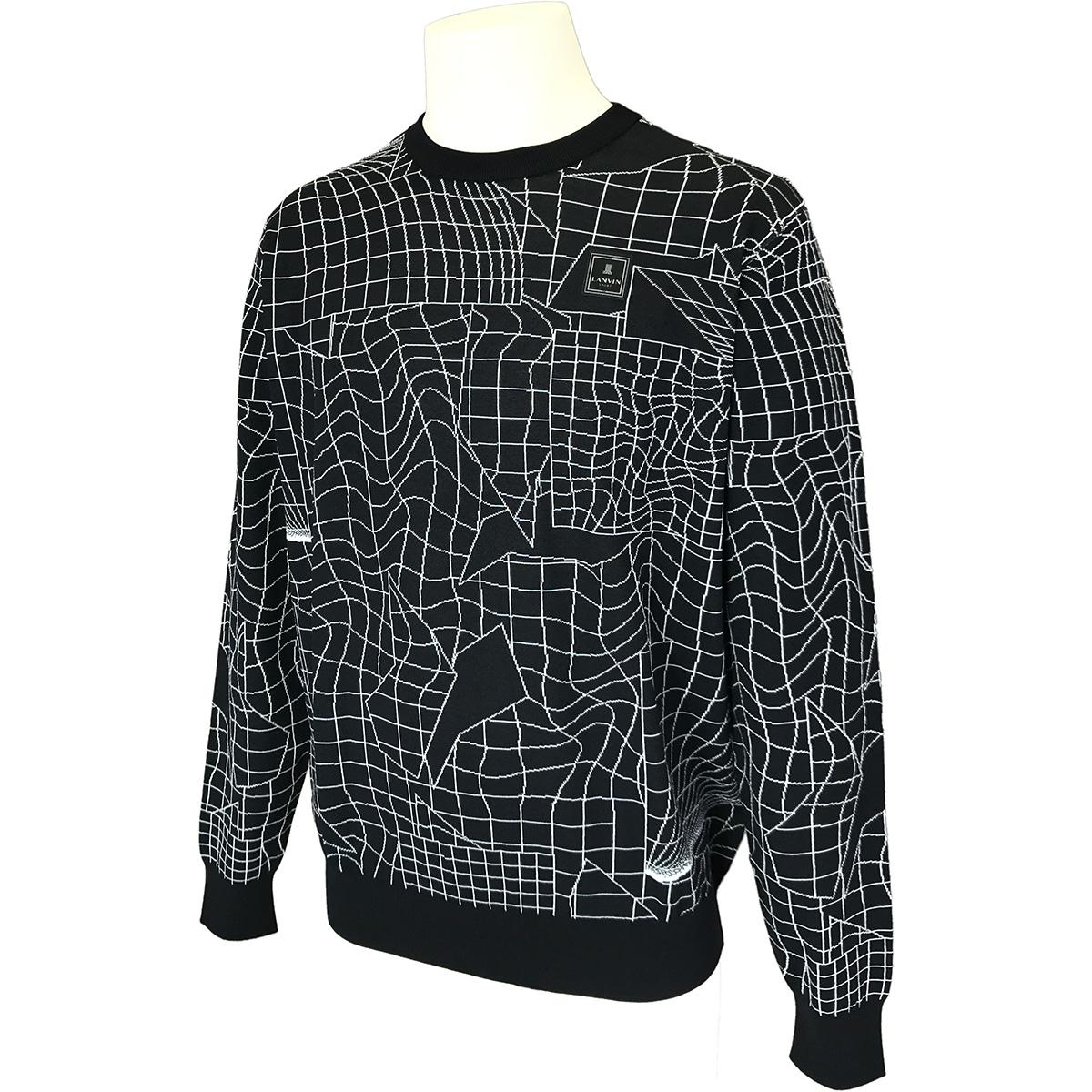 ハイゲージクルーネックセーター