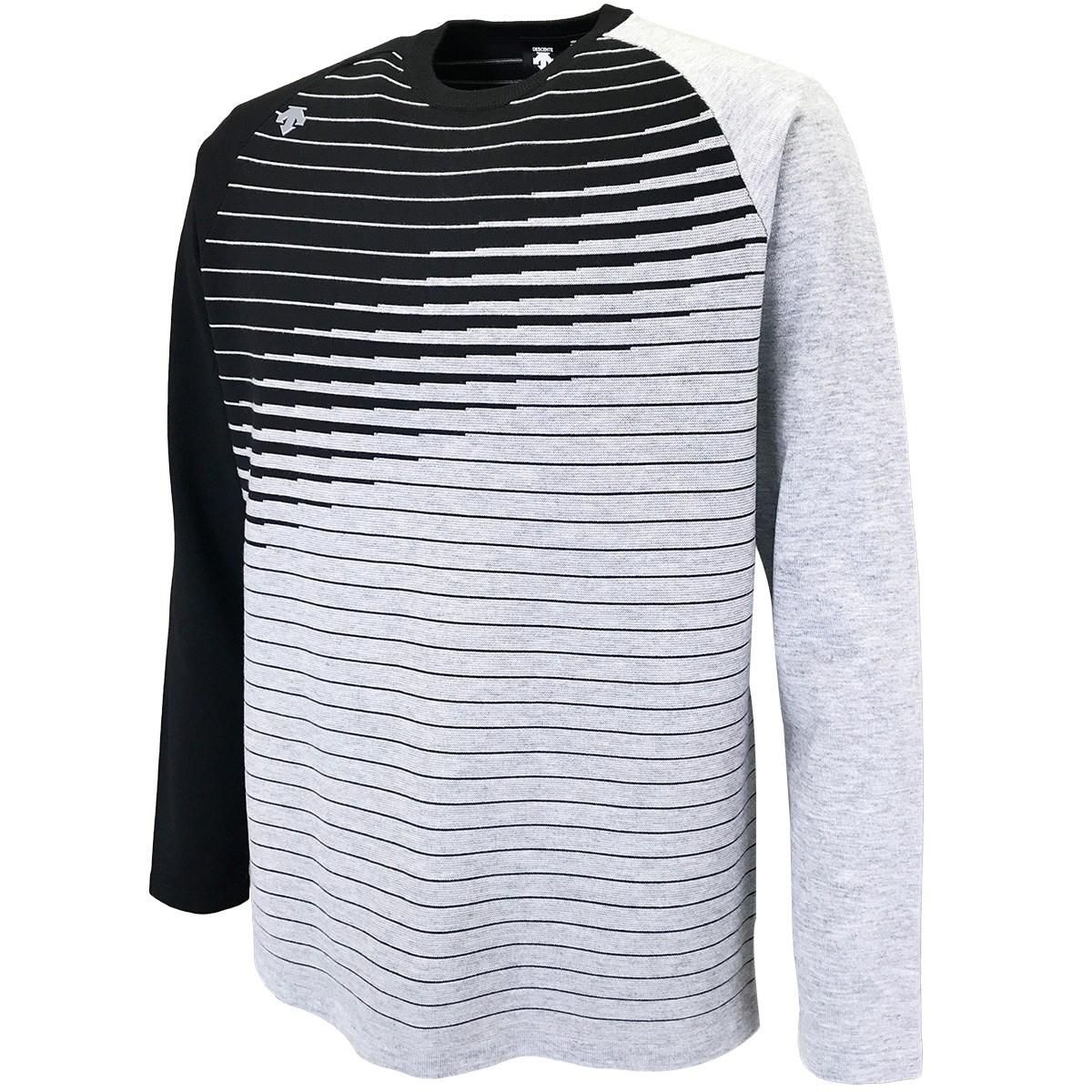 デサントゴルフ(DESCENTE GOLF) ウール混ライジング切り替えセーター