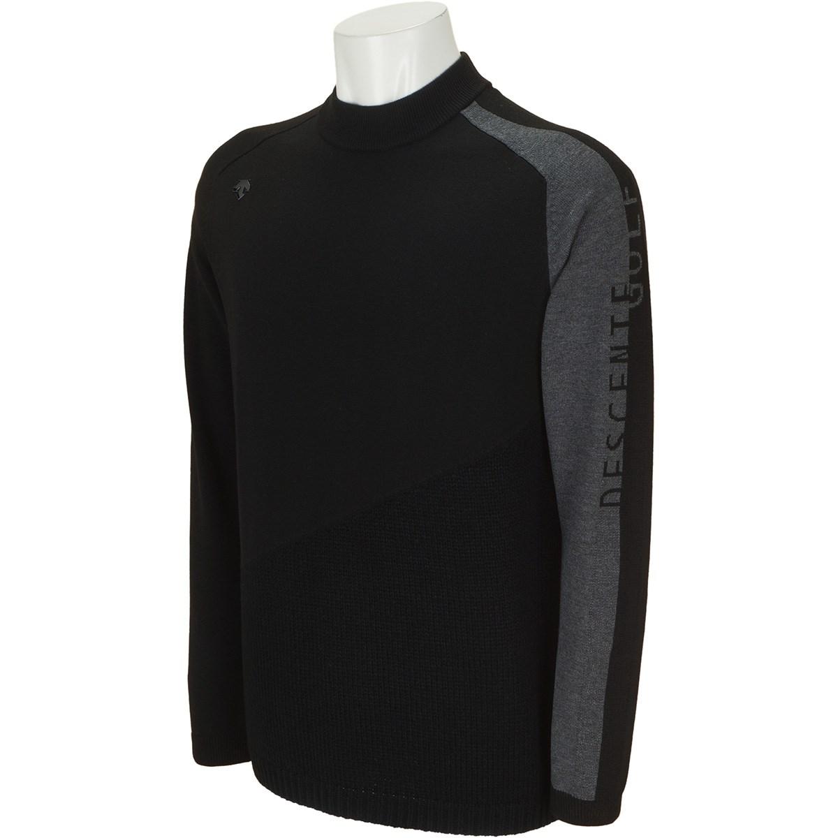 デサントゴルフ(DESCENTE GOLF) ウール混インターシャライジング切り替えセーター