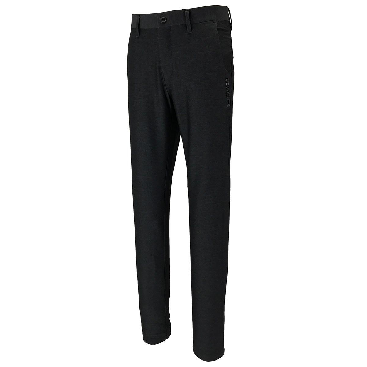 デサントゴルフ DESCENTE GOLF ミックス ストレッチパンツ 85 ブラック 00
