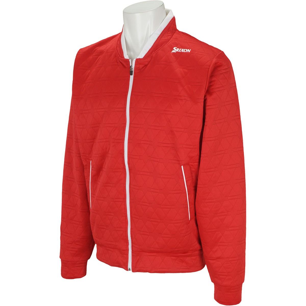 スリクソンゴルフ クロスニットキルトデザインジャケット