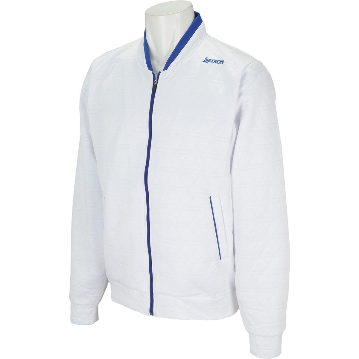 スリクソンゴルフ SRIXON クロスニットキルトデザインジャケット 3L ホワイト 00