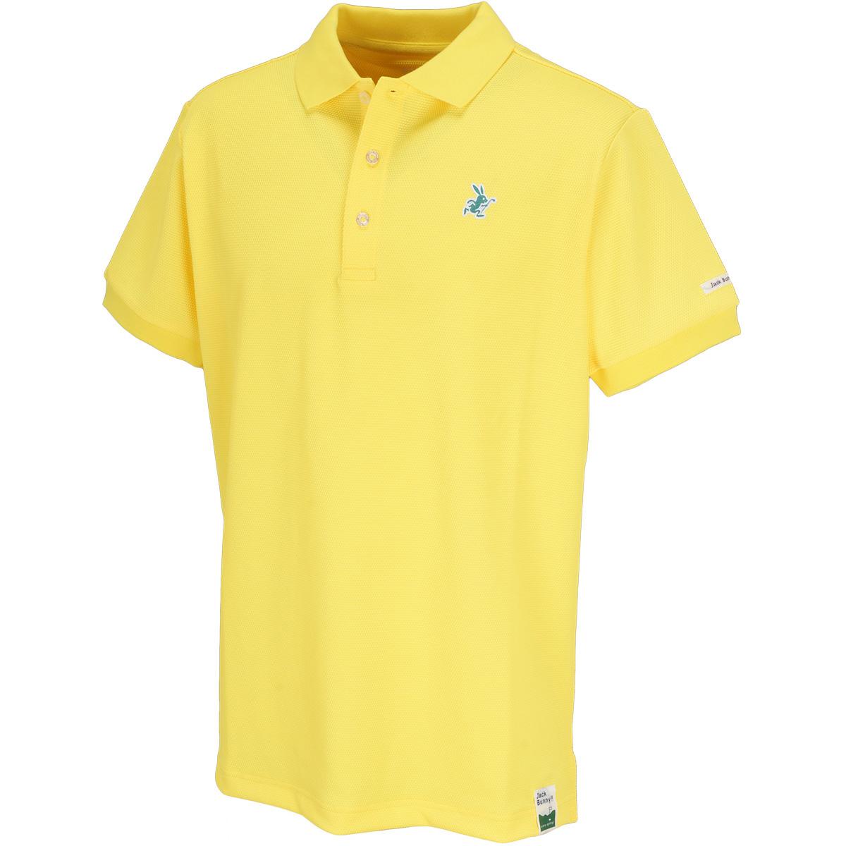 キューブジャカード半袖ポロシャツ