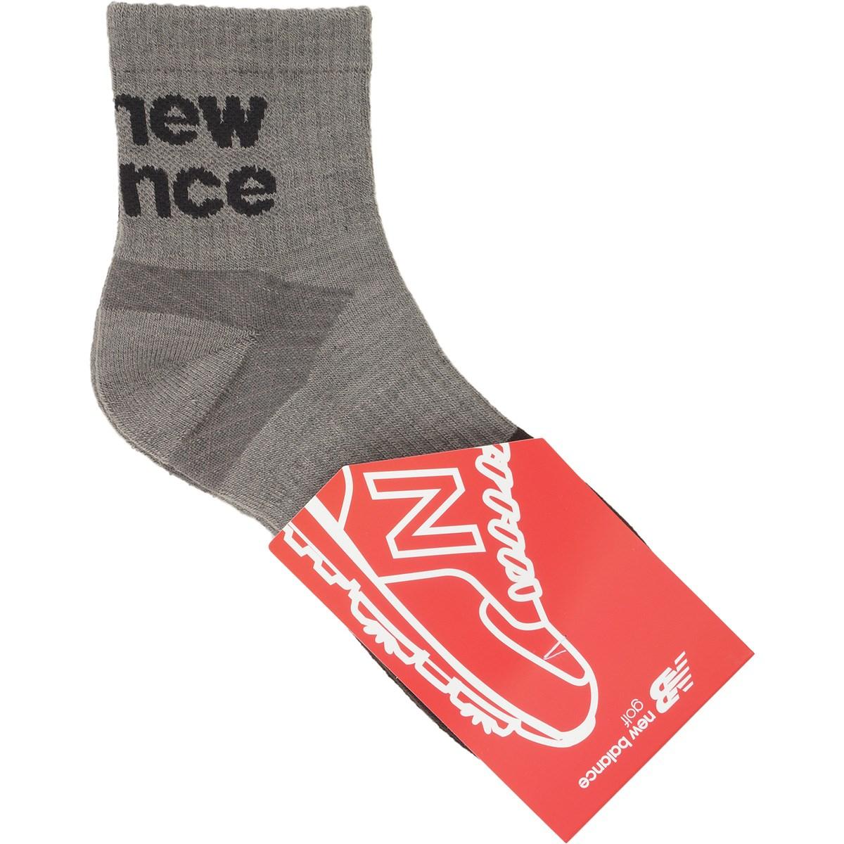 ニューバランス New Balance SPORT ミディアムショートソックス フリー グレー 023