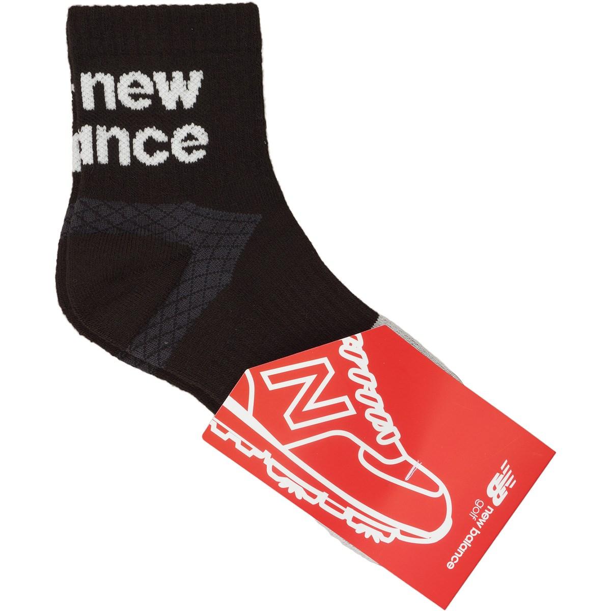 ニューバランス New Balance SPORT ミディアムショートソックス フリー ブラック 010
